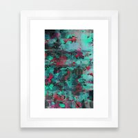 Symbolic Framed Art Print