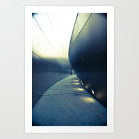 Gehry Exit Art Print