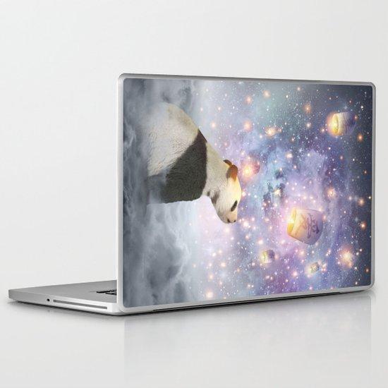 Let Your Dreams Take Flight • (Panda Dreams 2) Laptop & iPad Skin