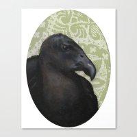 Mister Vulture Canvas Print