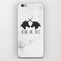 Ride or Die x Unicorns iPhone & iPod Skin