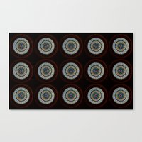 Stained Glass Trip Canvas Print