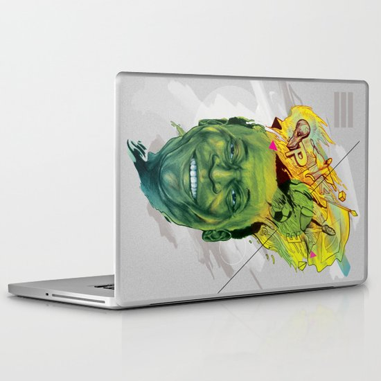 Rey Pele Laptop & iPad Skin