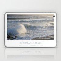 Deadman's Beach Laptop & iPad Skin