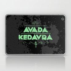 Harry Potter Curses: Avada Kedavra Laptop & iPad Skin
