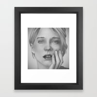 Léa Framed Art Print