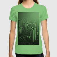 What is to come:  We have been warned  Womens Fitted Tee Grass SMALL