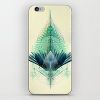 The Feathered Tribe Abstract / I iPhone & iPod Skin