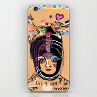 LIVE FOR LOVE iPhone & iPod Skin