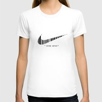 #2 Womens Fitted Tee White SMALL