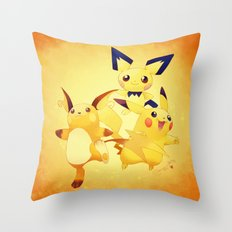thunders! - Pokémon Throw Pillow