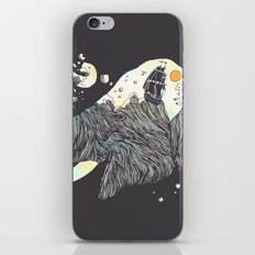 The Grey Gust and the Savage Sea iPhone & iPod Skin