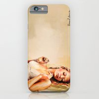 iPhone Cases featuring Femme/2 by Raquel García Maciá