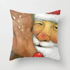A Happy Moment Throw Pillow
