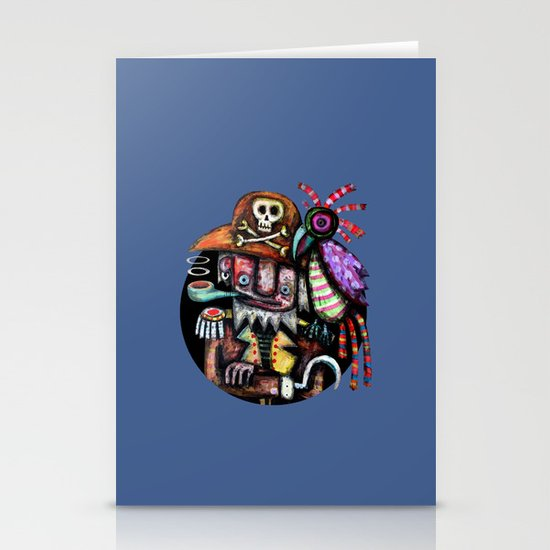 Old Pirate Stationery Card
