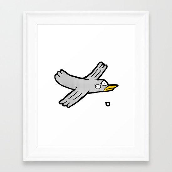 003_bird Framed Art Print