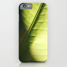leaf macro iPhone 6 Slim Case