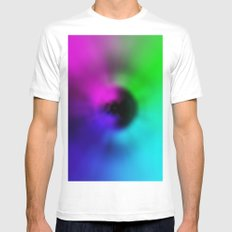 Warp Eye SMALL Mens Fitted Tee White