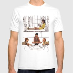 moonrise kingdom White SMALL Mens Fitted Tee