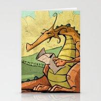A Dragon's Trek  Stationery Cards