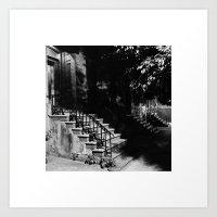 Lark Stoop Trio Art Print