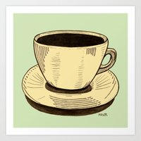 good ol' cup of coffee, I. Art Print