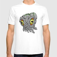 Hedorah Mens Fitted Tee White SMALL