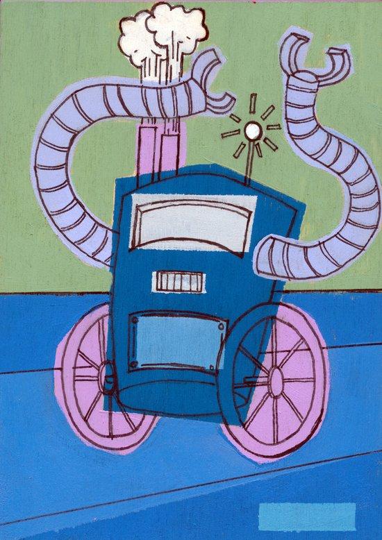 E-Bot Art Print