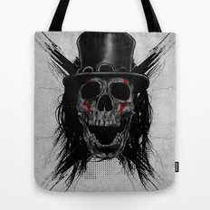 Skull Hat Tote Bag