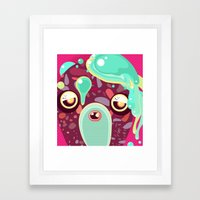 Monster Framed Art Print