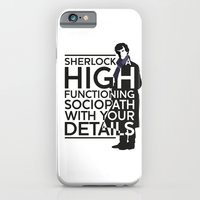 iPhone & iPod Case featuring High Functioning Sociopath by Andrew Treherne
