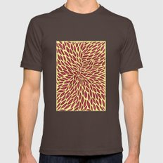 Red flow Mens Fitted Tee Brown SMALL