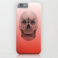 #34 - Christmas Tree Sugar Skull iPhone 6 Slim Case