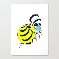 old bee Canvas Print