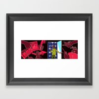 Hiding in Plain E-sight Framed Art Print