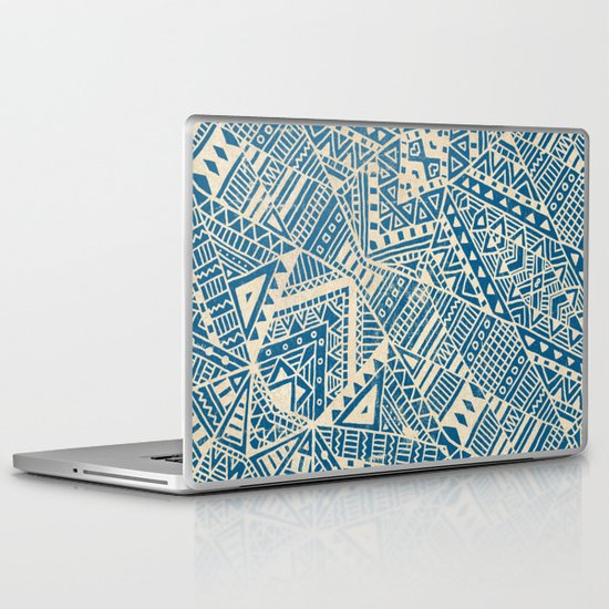 Tribal (blue)  Laptop & iPad Skin