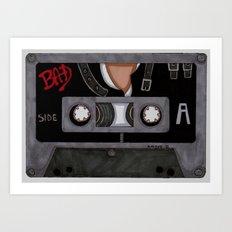 Bad-The Tape Art Print