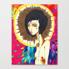 Geometric Madonna  Canvas Print