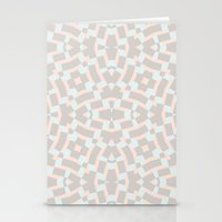 soft geo Stationery Cards