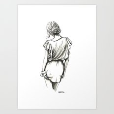 Forever Lovely Art Print