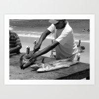 The Working Man  Art Print