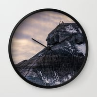 Lone Raven Wall Clock