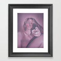 I See Right Through You,… Framed Art Print