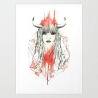 Zodiac - Taurus Art Print