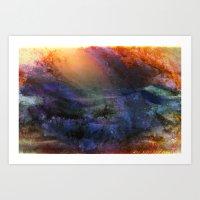 Ambient Galaxy Art Print