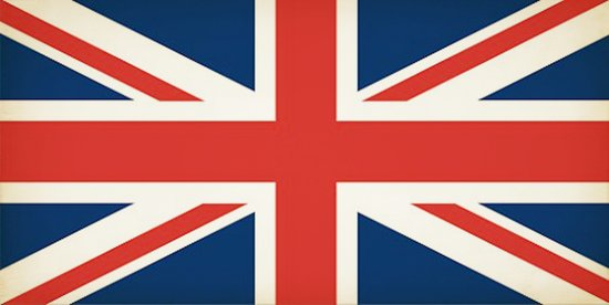 Union Jack UK Flag Canvas Print