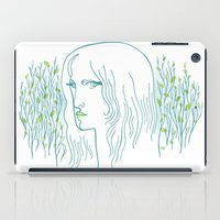 Woods Woman 1 iPad Case