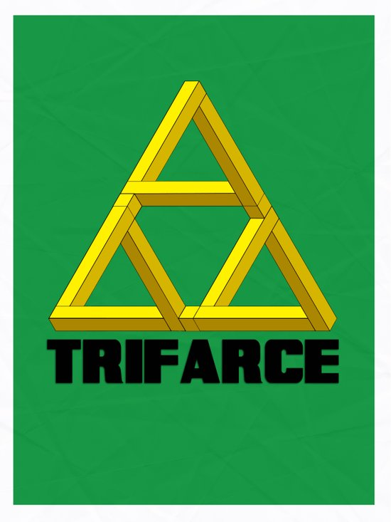 Trifarce Art Print