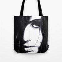 Look Me In The Eye. Tote Bag