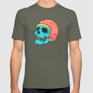 Fast Or Last Color Mens Fitted Tee Lieutenant SMALL